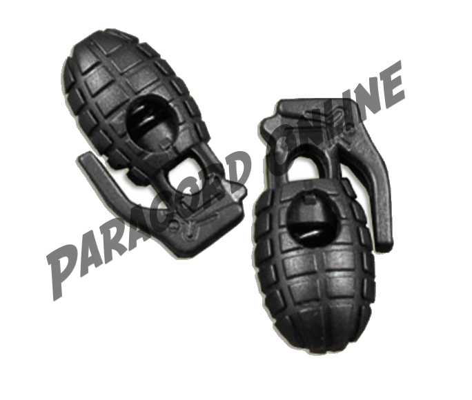 BLACK - Grenade Cord Lock - 5mm